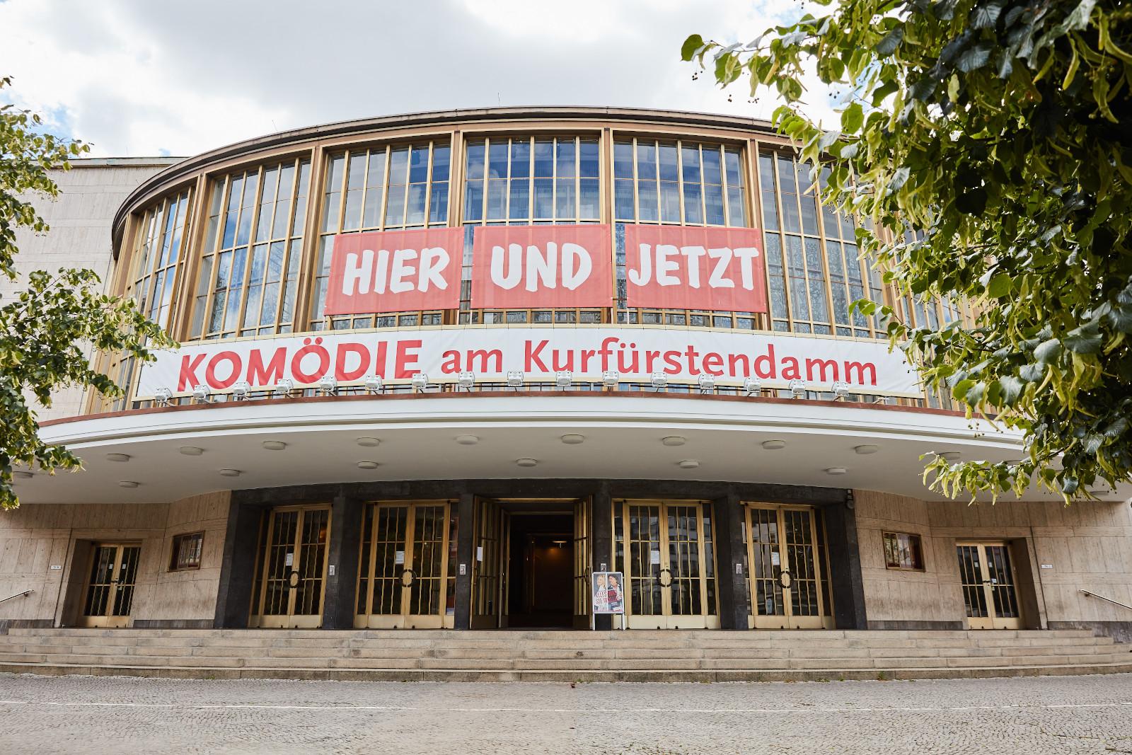 Schiller Theater aussen