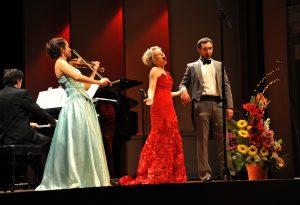 Maria Shalgina, Violin. Julia Novikova, Soprano. Josef R. Drechny, Bass-baritone Sorin Creciun, Piano