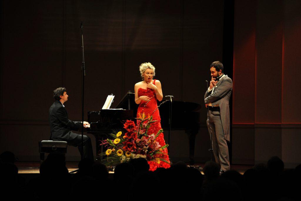 Julia Novikova, Soprano. Josef R. Drechny, Bass-baritone. Sorin Creciun, Piano