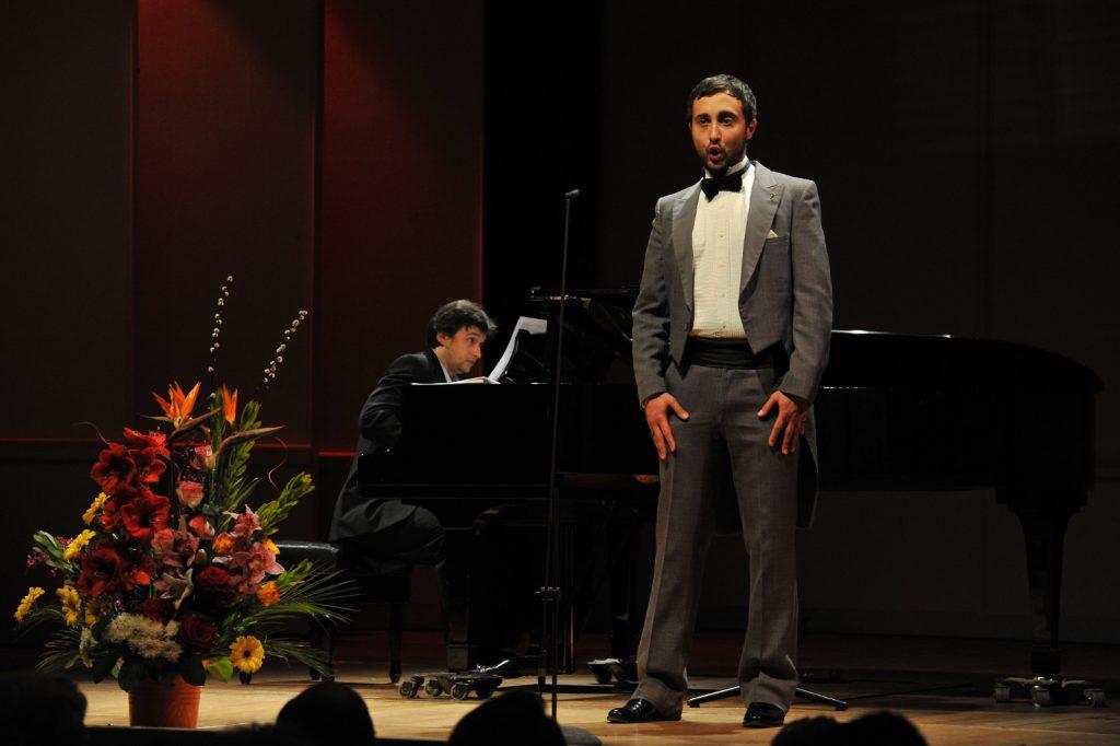 Josef R. Drechny, Bass-baritone. Sorin Creciun, Piano