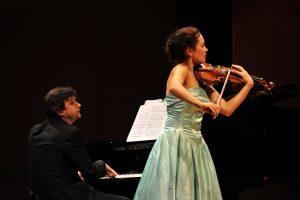 Maria Shalgina, Violin. Sorin Creciun, Piano