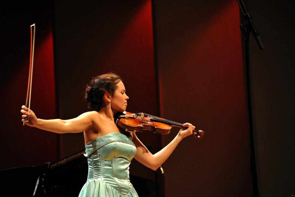 Maria Shalgina, Violin